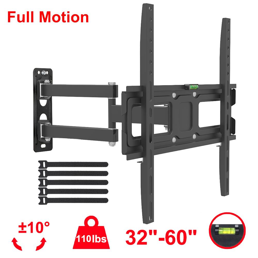 Rolling TV LED LCD Mount 32 37 42 46 50 54 LG Sony For Samsung Vizio TVs